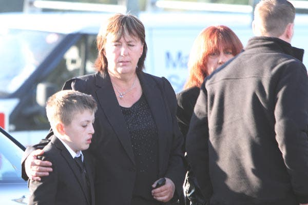 Barry McCrory funeral b