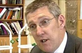 Education Minister John O'Dowd.