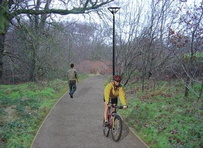 Waterside Greenway complete