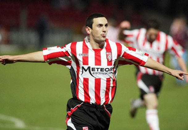 Former Derry City striker Mark Farren
