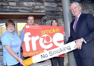 Pic 2: 70 days to smokefree South West Acute Hospital