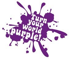 Turnyourworldpurple