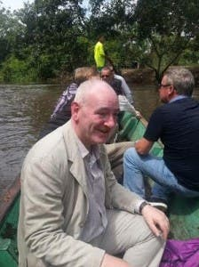 Mr Durkan pictured during his visit to Colombia.