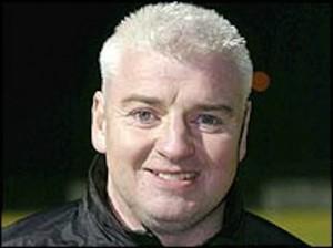 Former Derry City boss Gavin Dykes.
