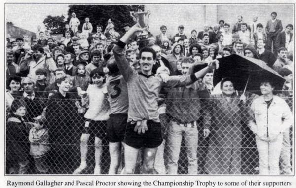 Back in the day...Slaughtmanus with the title in 1988