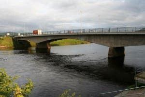 The current bridge linking Strabane to Lifford.