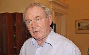 Martin McGuinness casual