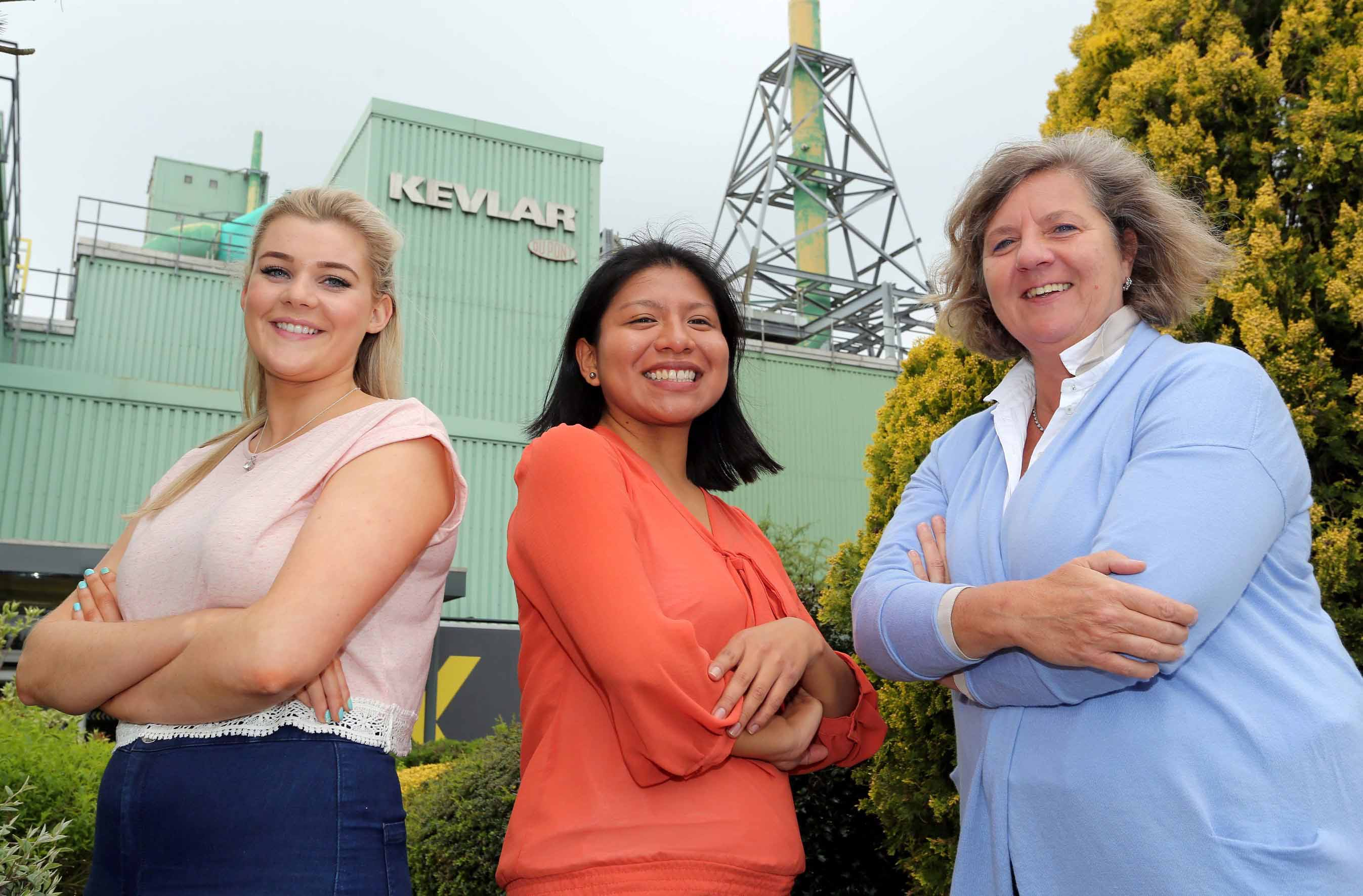women engineering successful careers at dupont derry daily today is national women in engineering day and three female engineers from dupont l