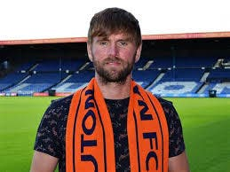 MAD FOR THE THE HATTERS: Paddy McCourt relishing his move to Luton