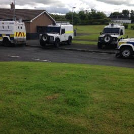 BRITS INVOLVED IN DERRY SEARCHES WERE ARMY EXPLOSIVES EXPERTS
