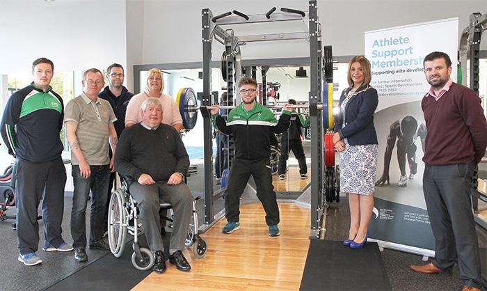 Athlete support Derry