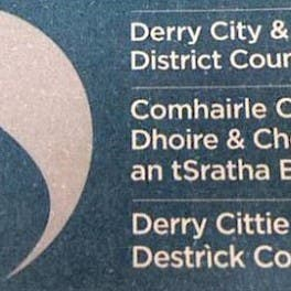 Derry City Strabane council logo