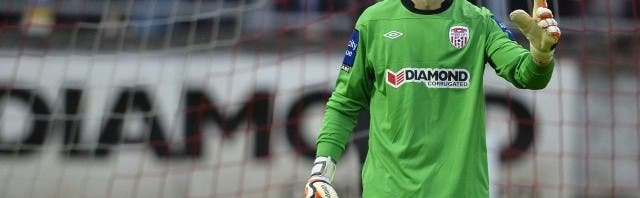 Goalkeeper Gerard Doherty signs new two year deal at Derry City