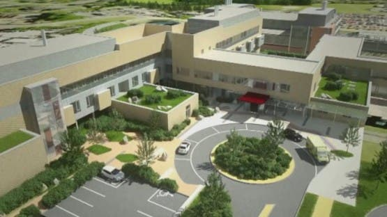 The new cancer unit in Derry will look like when it is finished