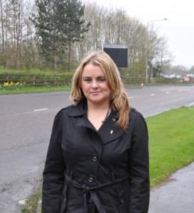 Sinn Fein councillor Sandra Duffy