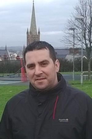 Sinn Fein councillor Christopher Jackson