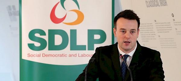 SDLP leader Colum Eastwood