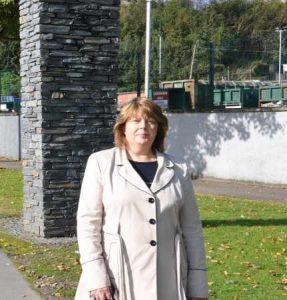 Sinn Fein councollor and education spokesperson Patricia Logue