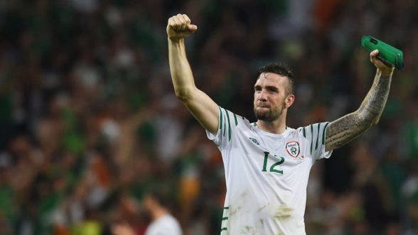 Shane Duffy coming back to his roots this evening with a visit to Derry