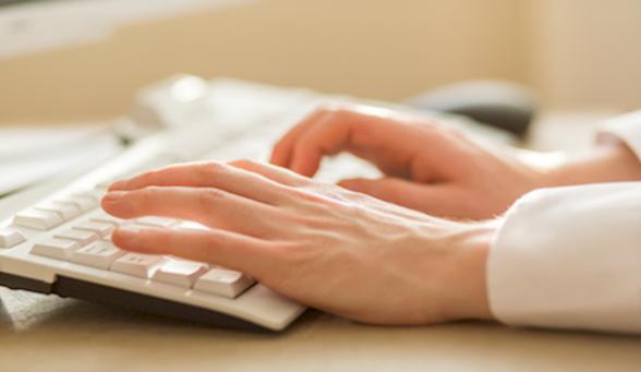 computer keyboard online safety