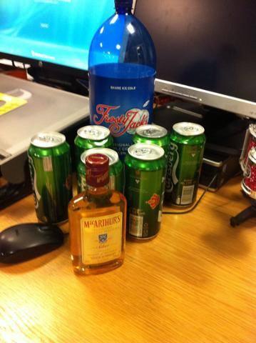 Culmore point booze seized