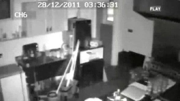 CCTV image from inside Sean Dolan's club in December 2011
