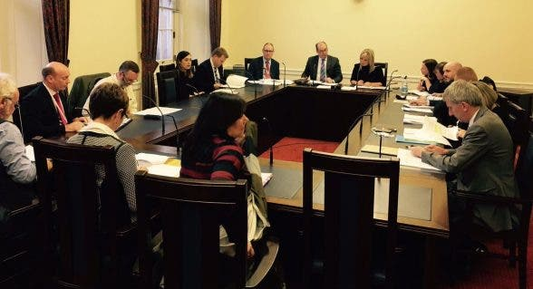 Health Minister Michelle O'Neill hosting a ministerial meeting to discuss how to tackle problems of suicide in society
