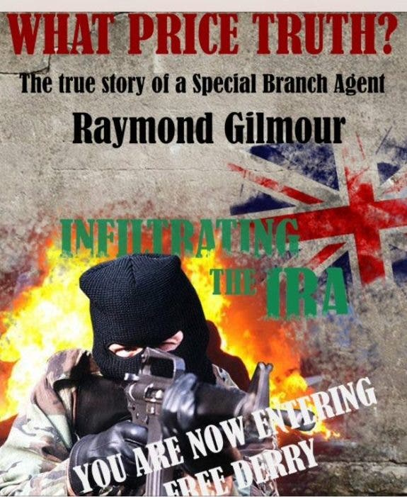 Raymond Gilmour's blockbuster book What Price Truth was a huge hit on Amazon