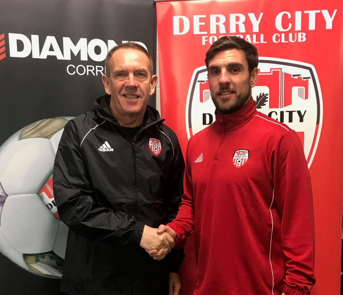 LATEST TRANSFER NEWS: DERRY CITY SIGN FIVE NEW PLAYERS