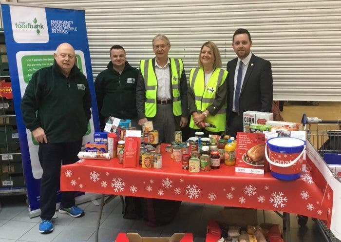 Tescos In Derry Collecting For Local Food Banks Derry Daily