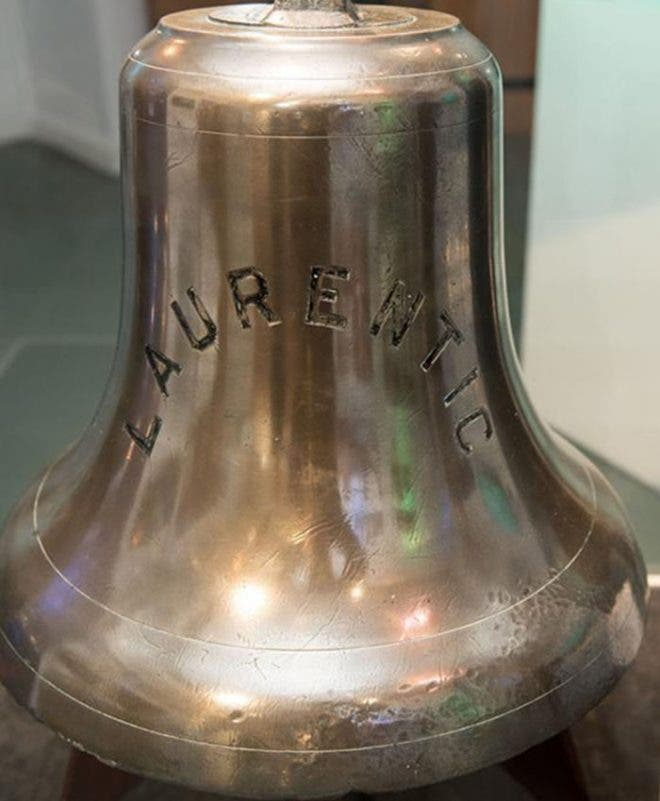 LAURENTIC BELL MAKES ITS HOME COMING VOYAGE TO DERRY ...