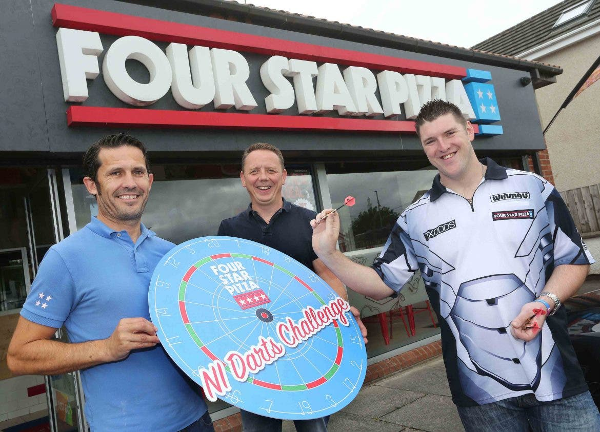 Time Running Out To Enter Four Star Pizza Darts Challenge
