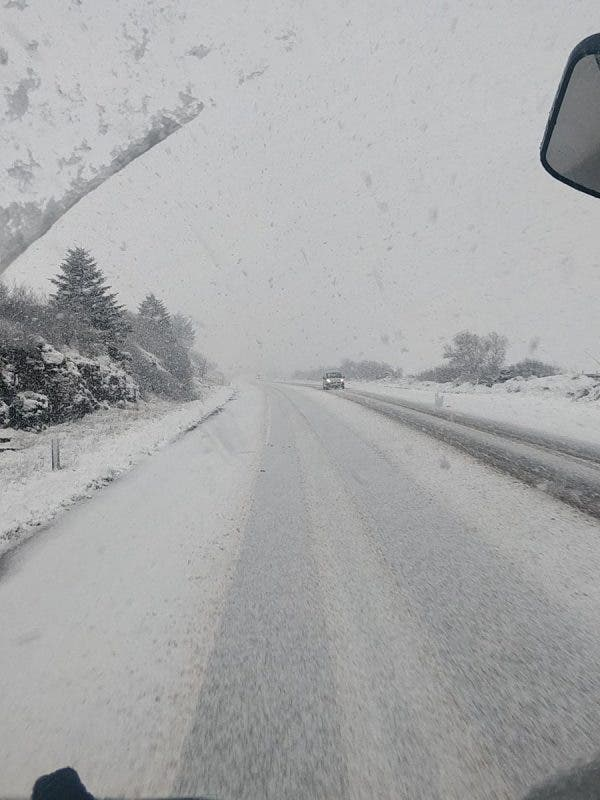 Treacherous road conditions across North West as roads
